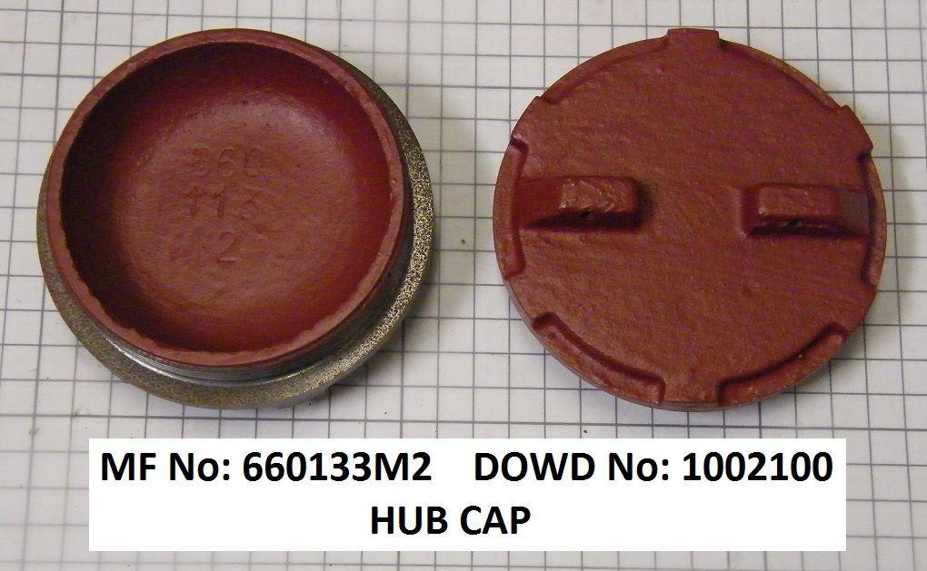 Massey Ferguson HUB CAP Part No:660 133 M2