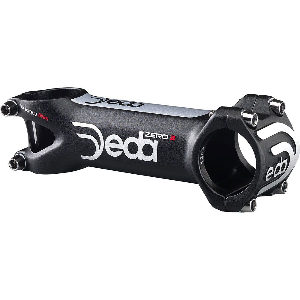 DEDA ELEMENTI ZERO 2 STEM BLACK 100MM DDZ100