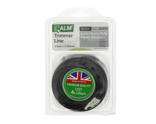 Trimmer Line: 3.5mm 15m Black Round Cutting Line