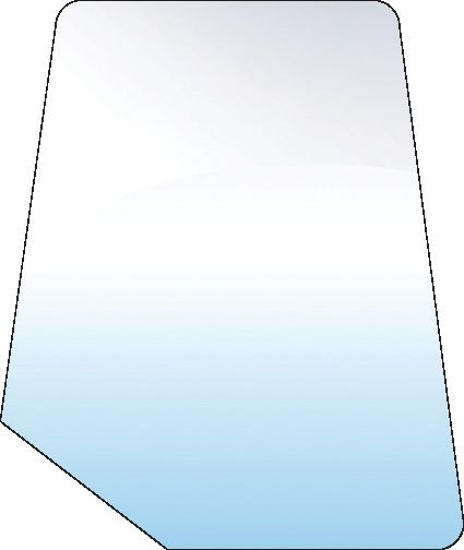 FORD NEW HOLLAND GLASS-DOOR-UPPER-TINTED 10091