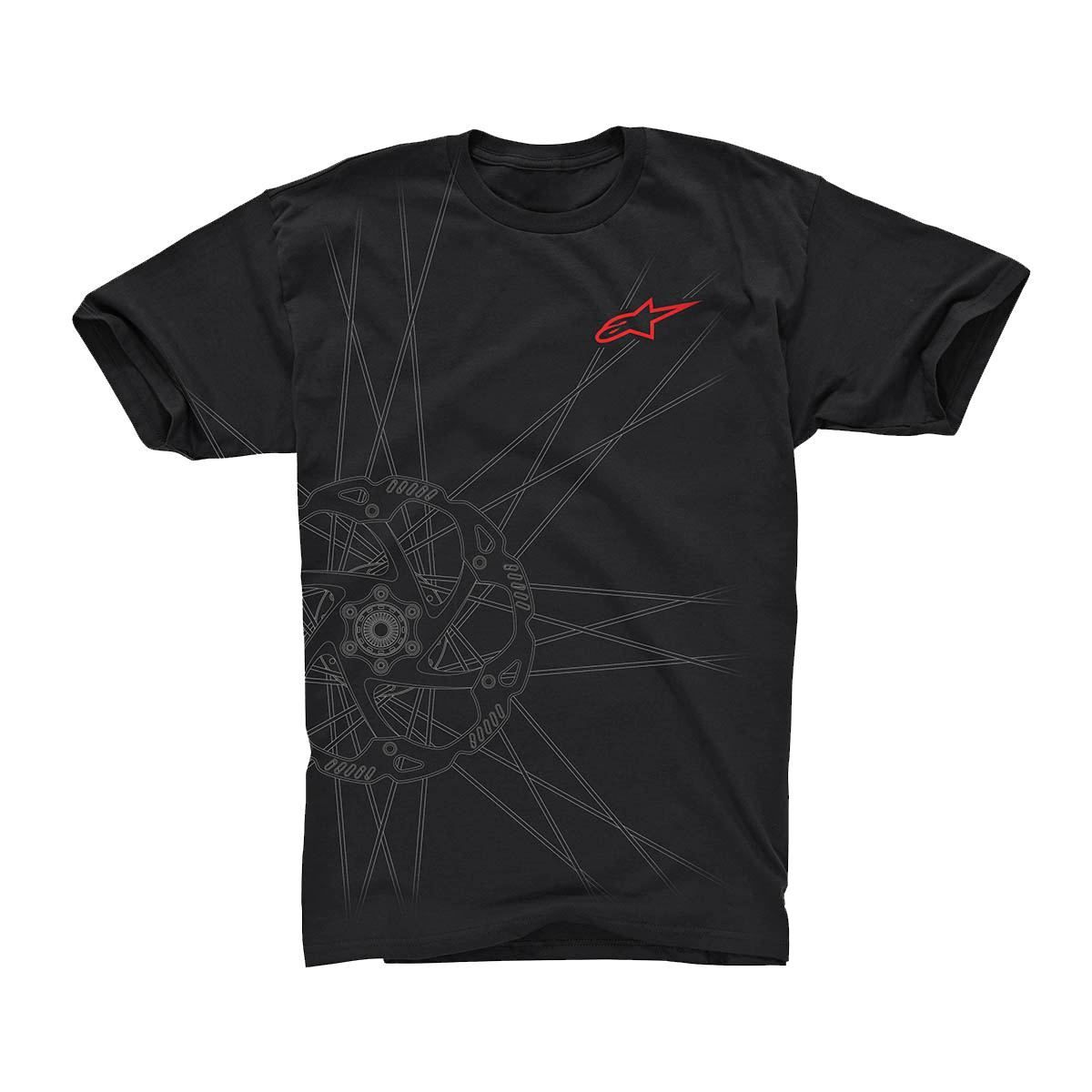 Alpinestars Spokes Tee 2017: Black 2Xl