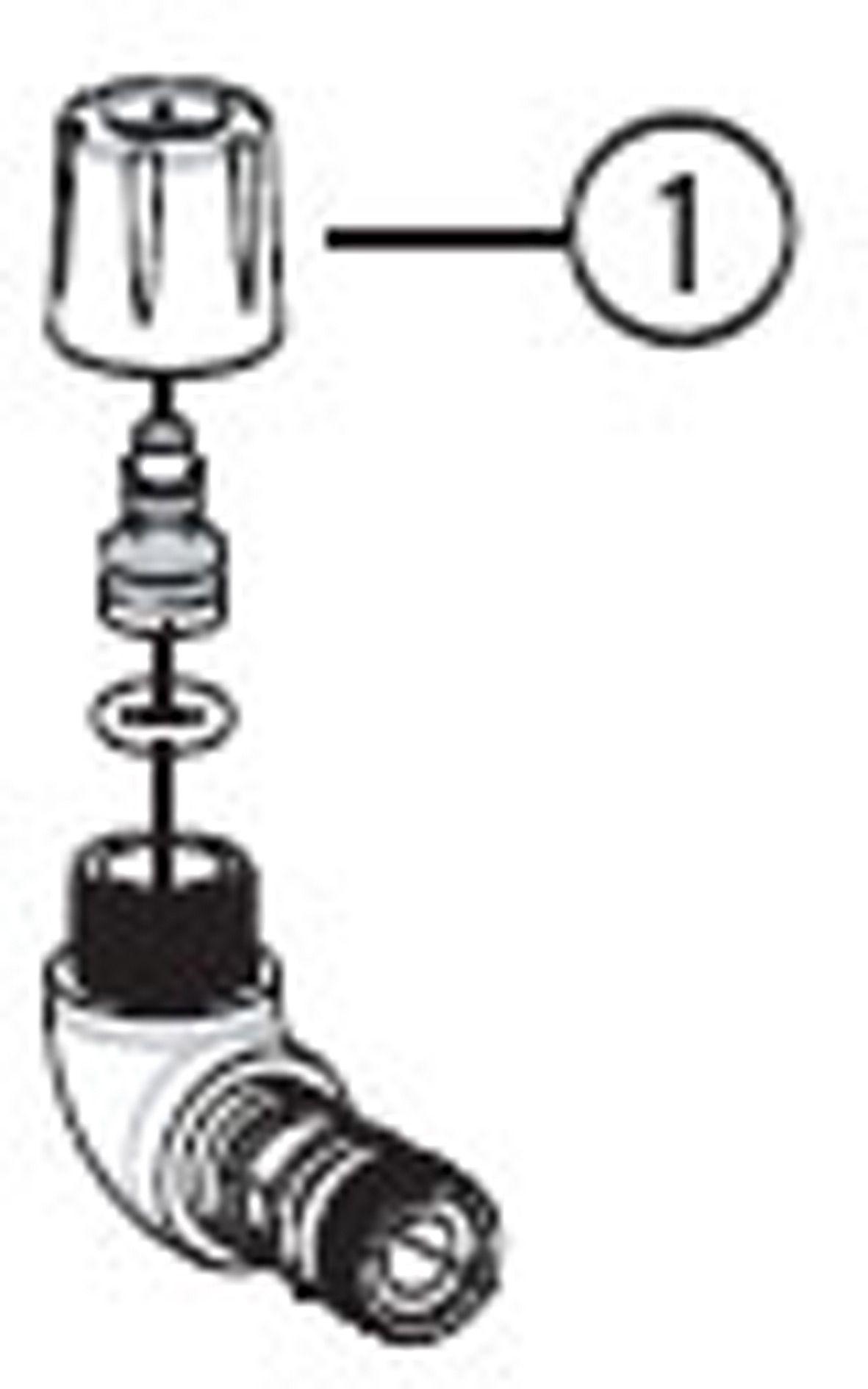 PARK TOOL SPRE PARK HEAD/HOSECOMPRESFIT QK1082