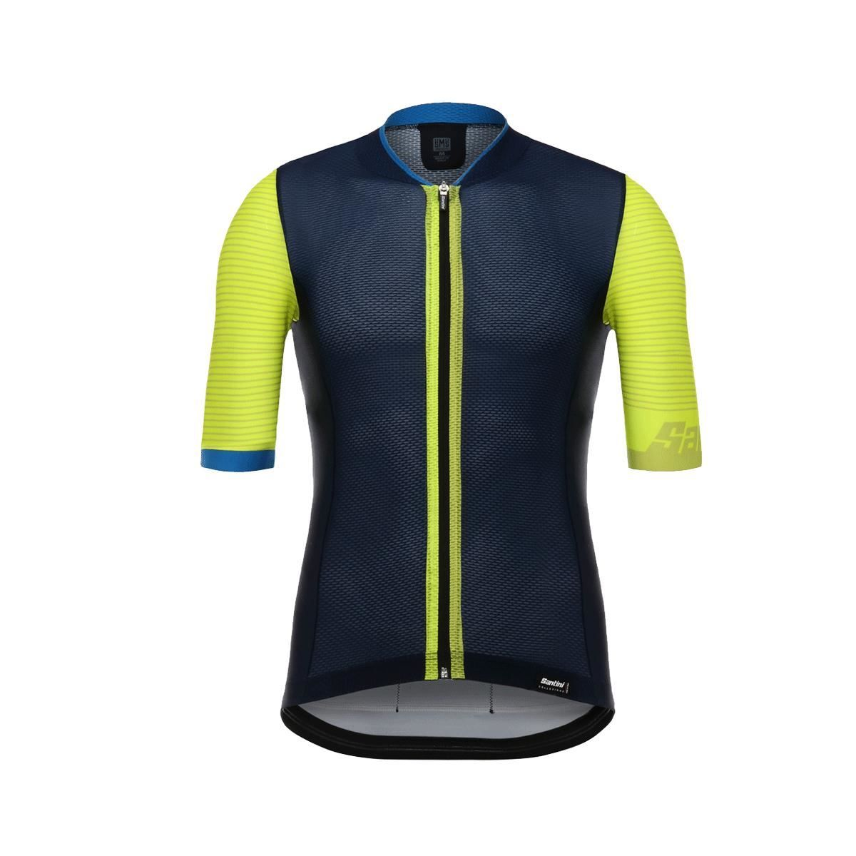 Santini Tono 2.0 Short Sleeve Jersey 2018: Yellow 3Xl