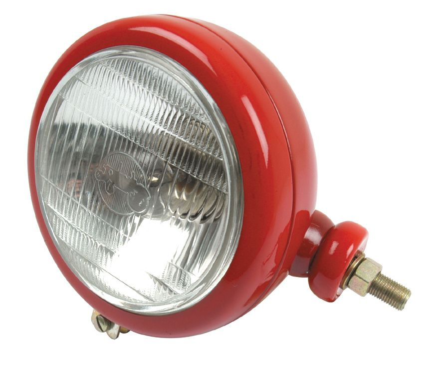 DAVID BROWN HEADLAMP-RH-RED 7836
