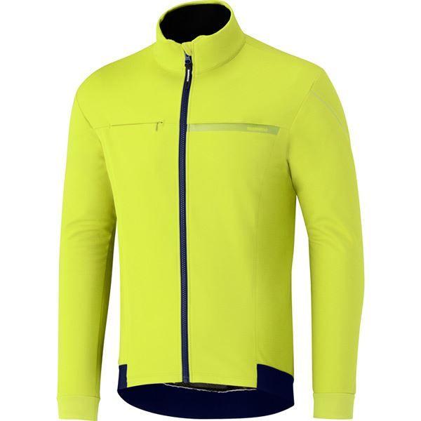 Shimano Men's - Windbreak Jacket Shimano - Neon Yellow - Size XXL