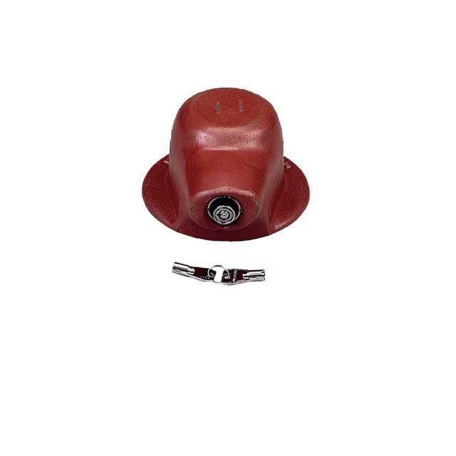 2 (51MM) KING PIN LOCK - FLANGED HEAVY DUTY C/W 2 KEYS A0809