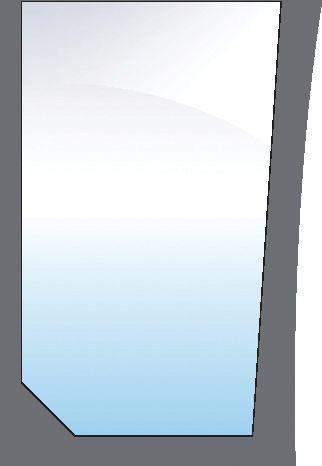 CASE IH GLASS-FRONT-LOWER-RH