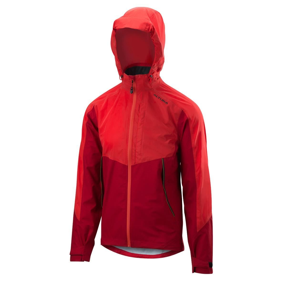 Altura Nightvision Thunderstorm Jacket 2018: Red/Red Reflective S