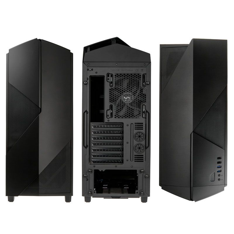 NZXT NOCTIS 450 MATTE BLACK MID-TOWER CHASSIS CA-N450W-M1