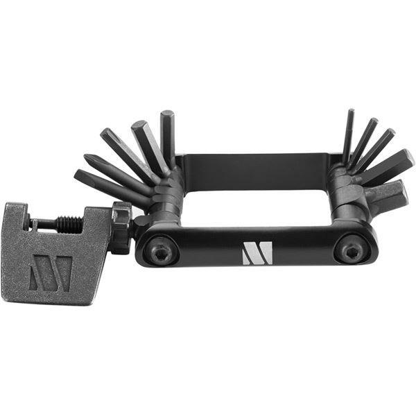 M Part 13 function premium quality multi tool, black