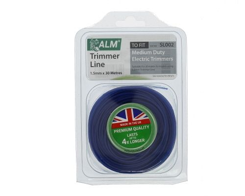 Trimmer Line: 1.5mm 30m Blue Round Cutting Line