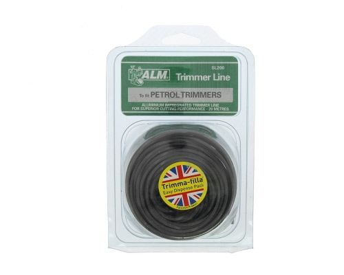 Trimmer Line: 2.0mm 20m Square Grey Cutting Line