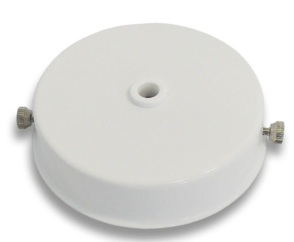 Ceiling Rose White for Metalbrite Pendant 85mm x 21mm