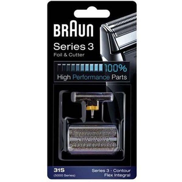 Braun 504 31S Flex Integral Grey Foil & Cutter Pack Z632502