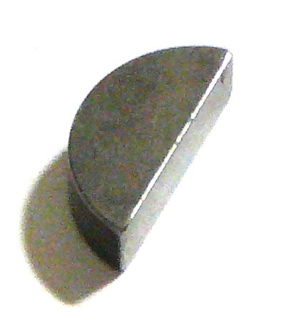 "FORD WOODRUFF KEY-1/4""X7/8"" 2915"