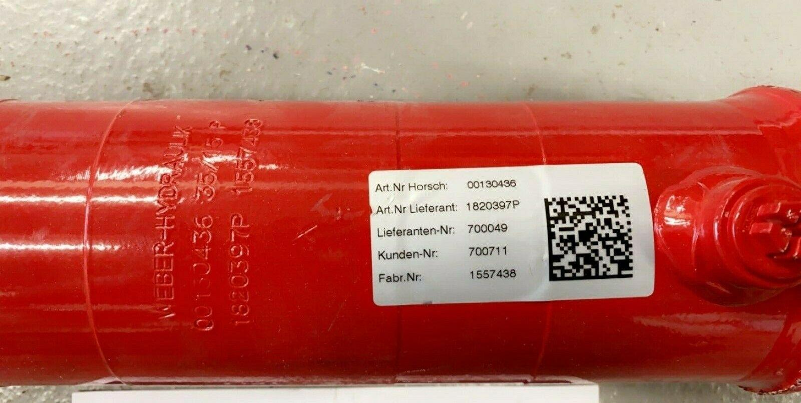 HORSCH Hydraulic Cylinder - 00130436
