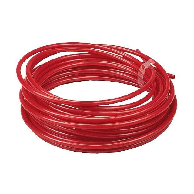 FLEXIBLE NYLON TUBING - RED - 30M A1166