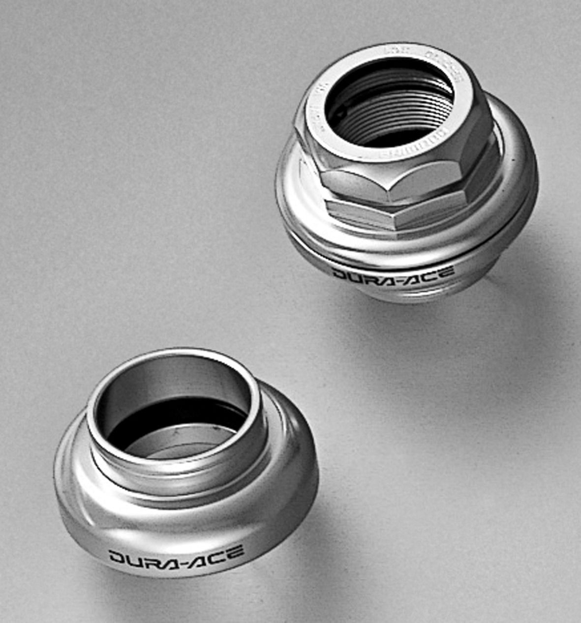SHIMANO DURA-ACE H/SET D/ACE 1IN ROAD SILVER HP74100000