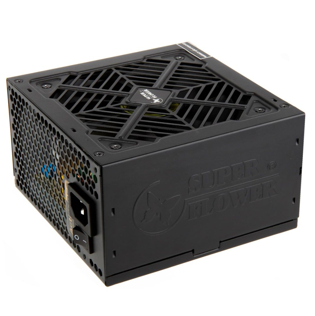 "SUPER FLOWER GOLDEN GREEN HX 550W ""80 PLUS GOLD"" POWER SUPPLY - BLACK SF-550P14XE (HX)"