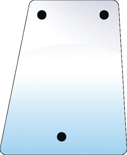 DAVID BROWN GLASS-SIDE-LH
