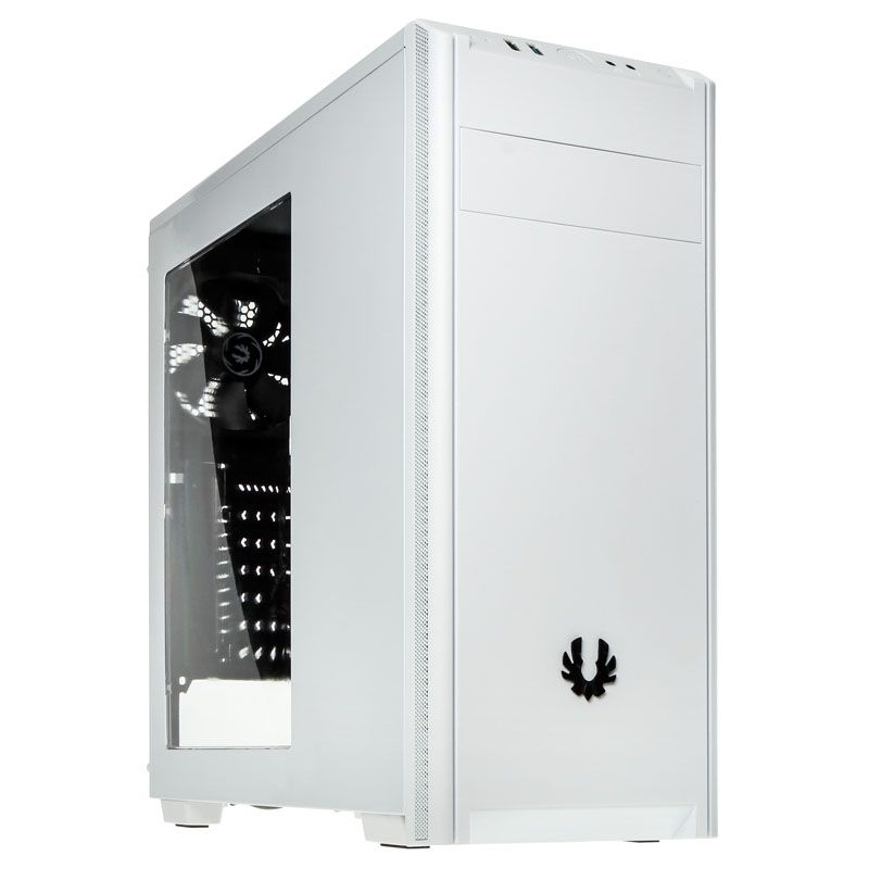 BITFENIX NOVA MIDI TOWER CASE - WHITE WINDOW BFX-NOV-100-WWWKK-RP