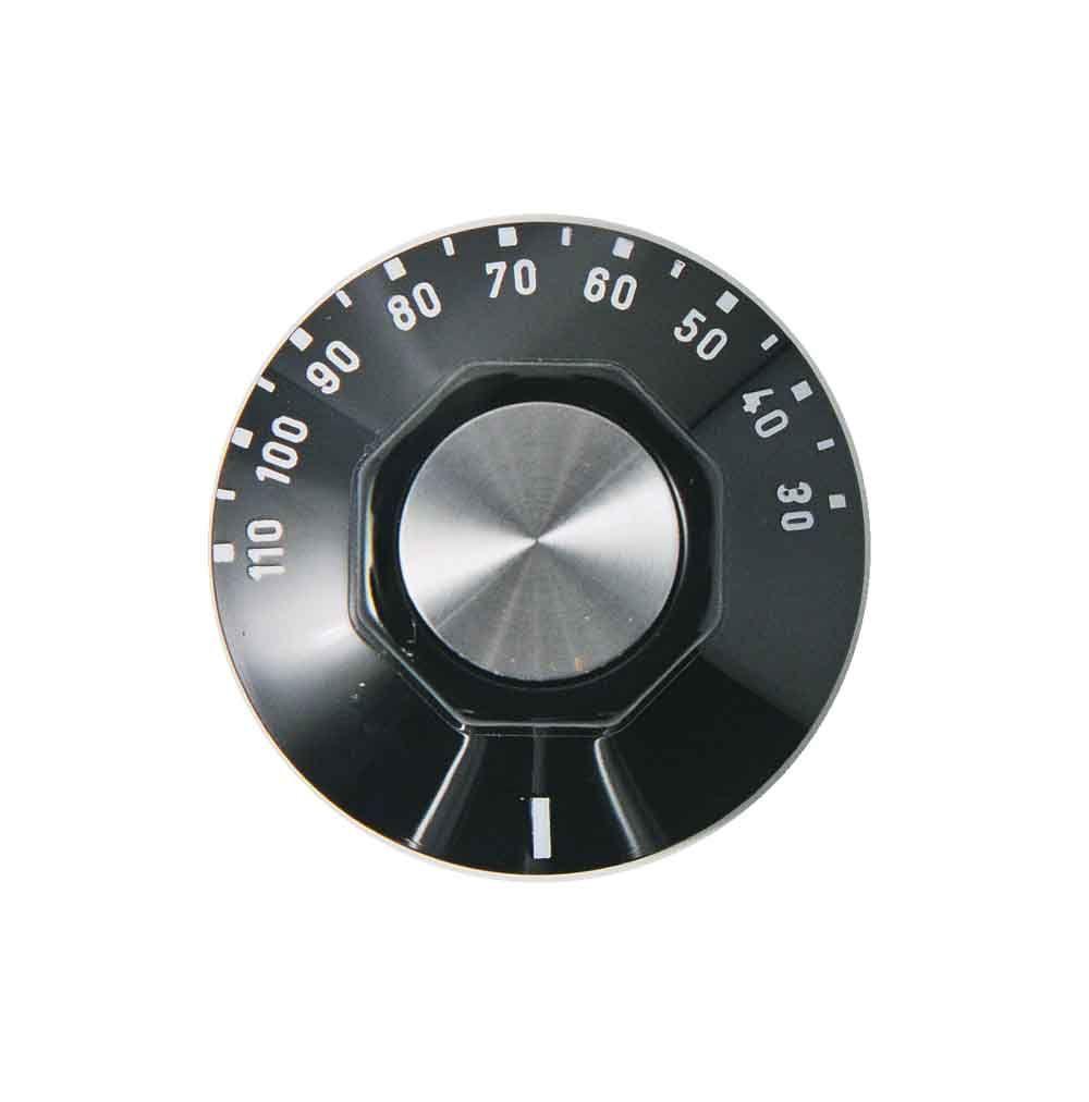 Knob: Cooker: 6mm 30c - 110c: Ego 524.805 86118