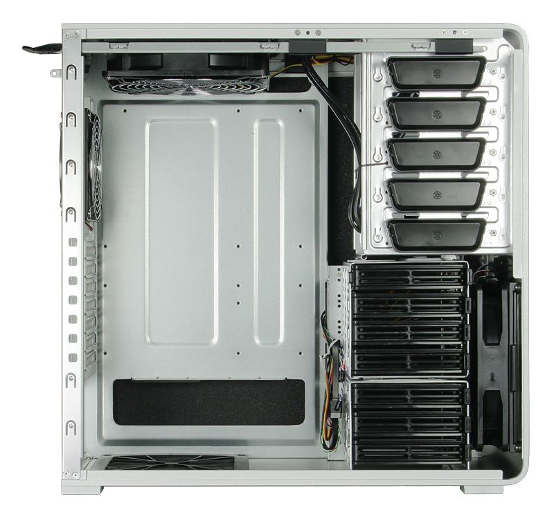 SILVERSTONE FORTRESS FT01 CASE - SILVER SST-FT01S