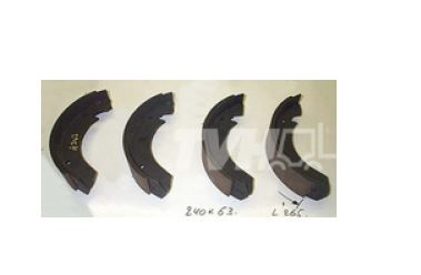 Coventry Climax Forklift 50 GC 1075 Brake Shoes Kit set of 4