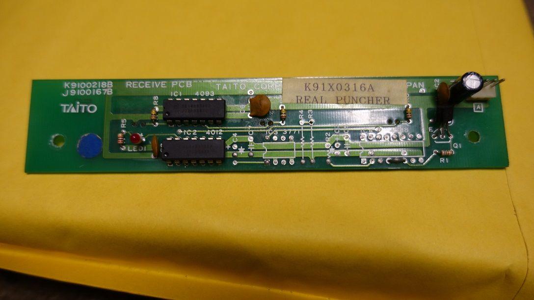 TAITO K91X0316A RECEIVE PCB TAITOK91X0316ARECEIVEPCB