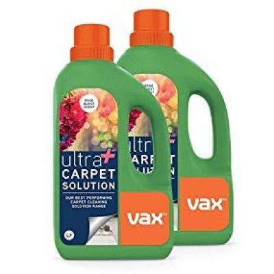 Vax Ultra Carpet Solution Rose Burst 2 x 1.5 Litre