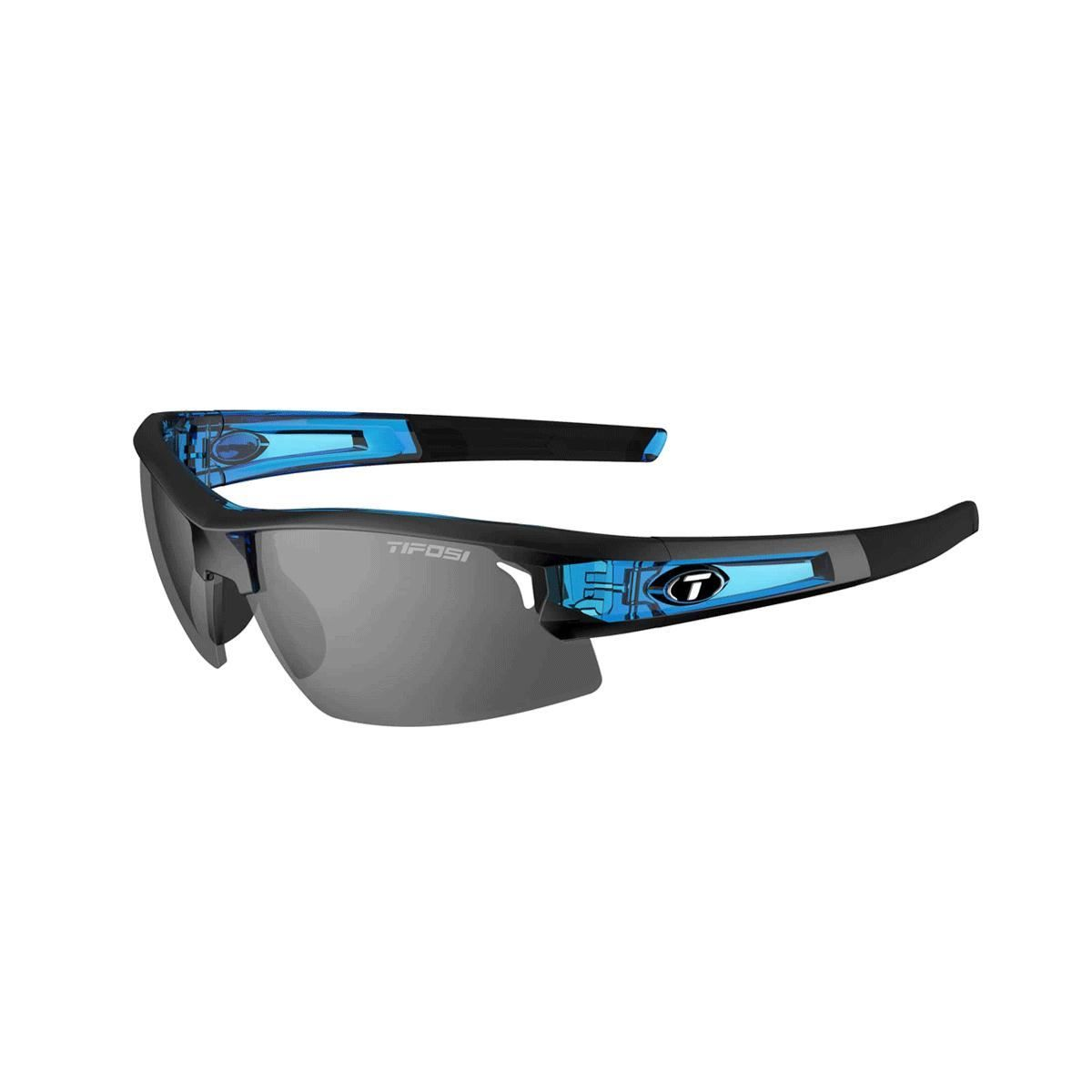 Tifosi Synapse Interchangeable Lens Sunglasses 2018: Crystal Blue