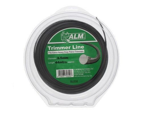 Trimmer Line: 3.5mm 40m Black Round Cutting Line
