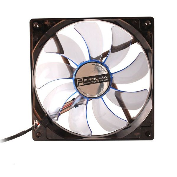 PROLIMATECH BLUE VORTEX BLUE WINGS BLUE LED 120MM FAN Blue Vortex 12 LED