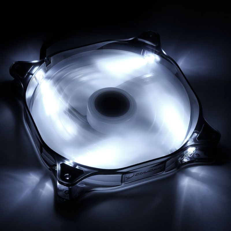 COUGAR LED-FAN D14HB-G WHITE - 140MM