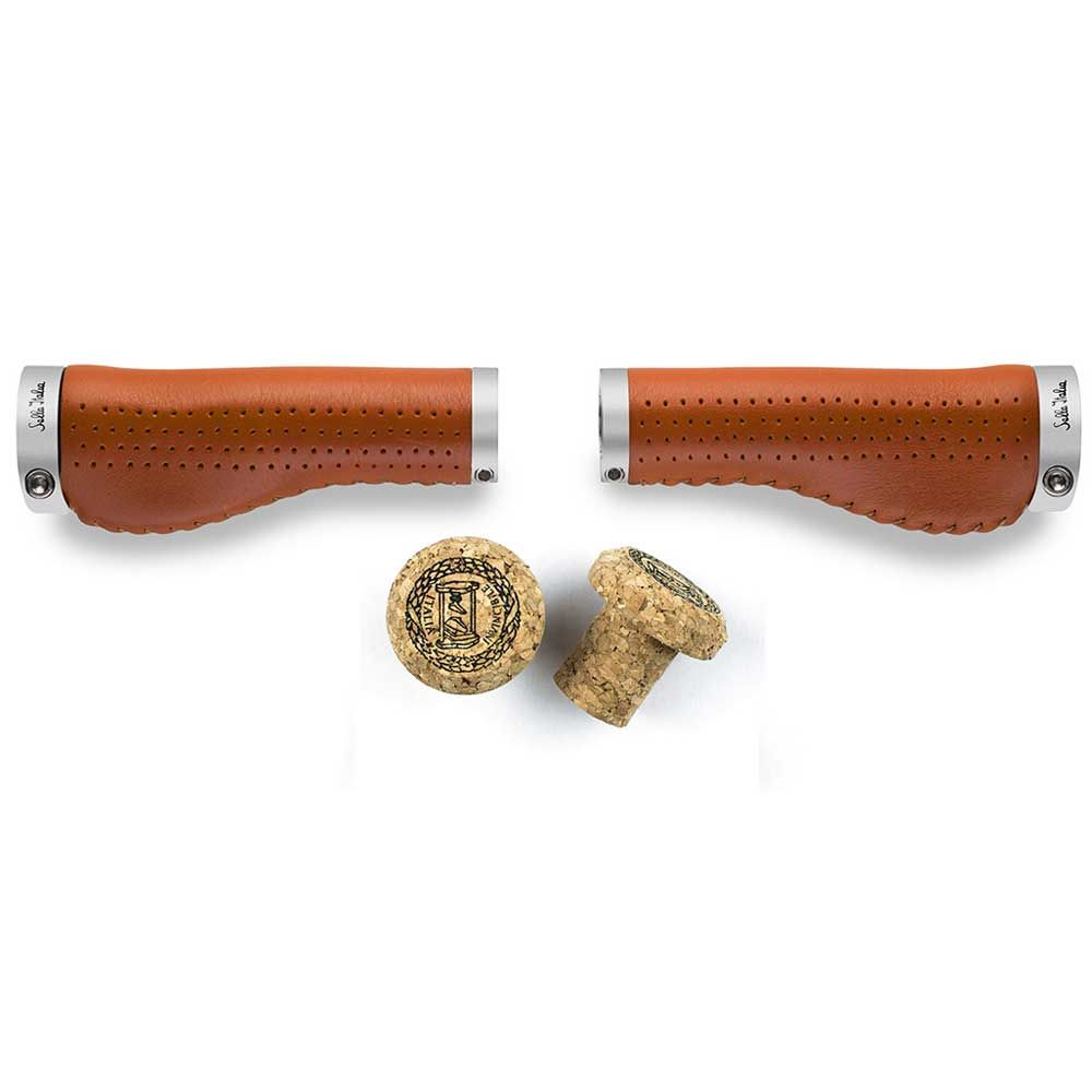 SELLA ITALIA EPICA LEATHER ERGO GRIPS TAN