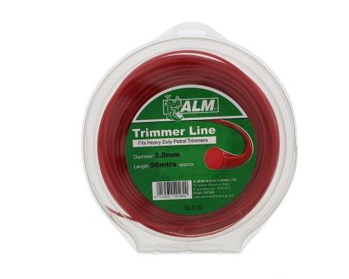 Trimmer Line: 3.0mm 55m Red Round Cutting Line