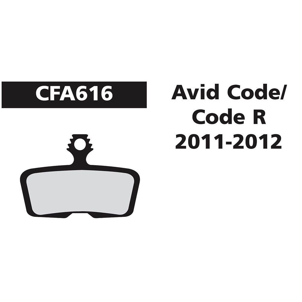 EBC AVID ELIXIR/CODE 11-12 GOLD FA616HH
