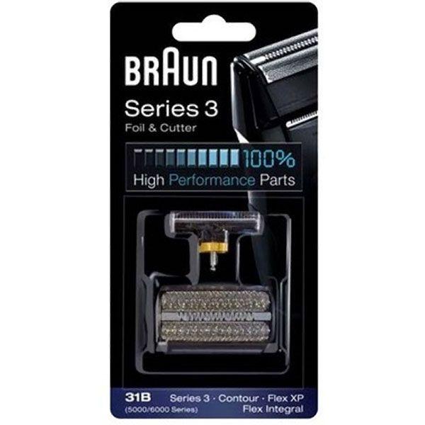 Braun 505 31B Flex Integral Black Foil & Cutter Pack Z632501