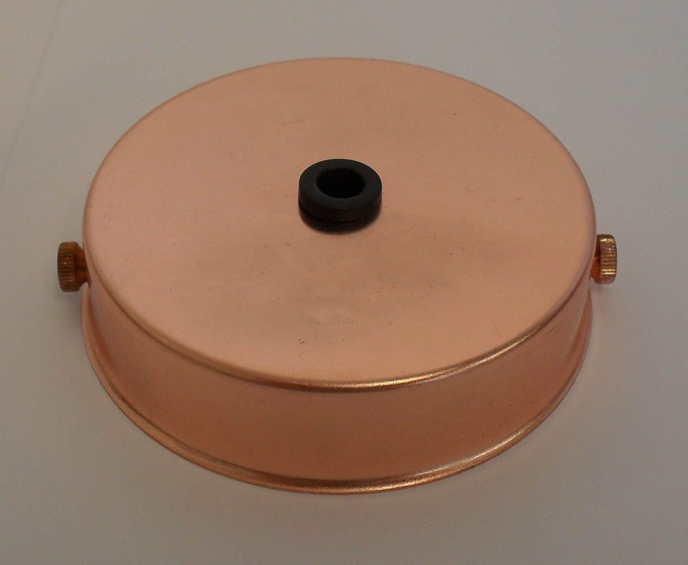 Ceiling Rose Copper for Metalbrite Pendant 85mm x 21mm