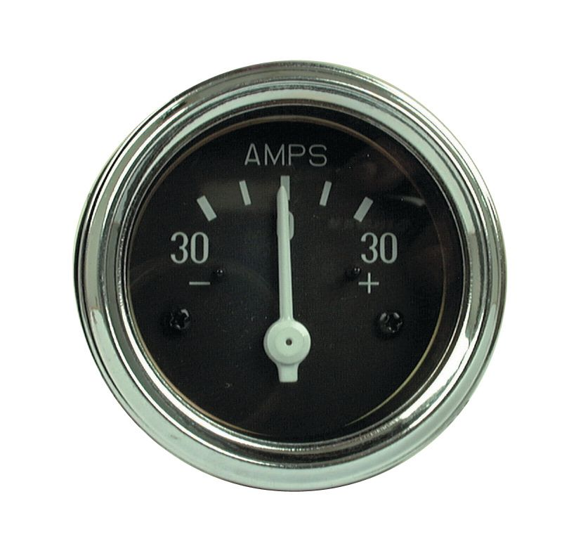 ALLIS CHALMERS GAUGE-AMMETER-30AMP-50MM
