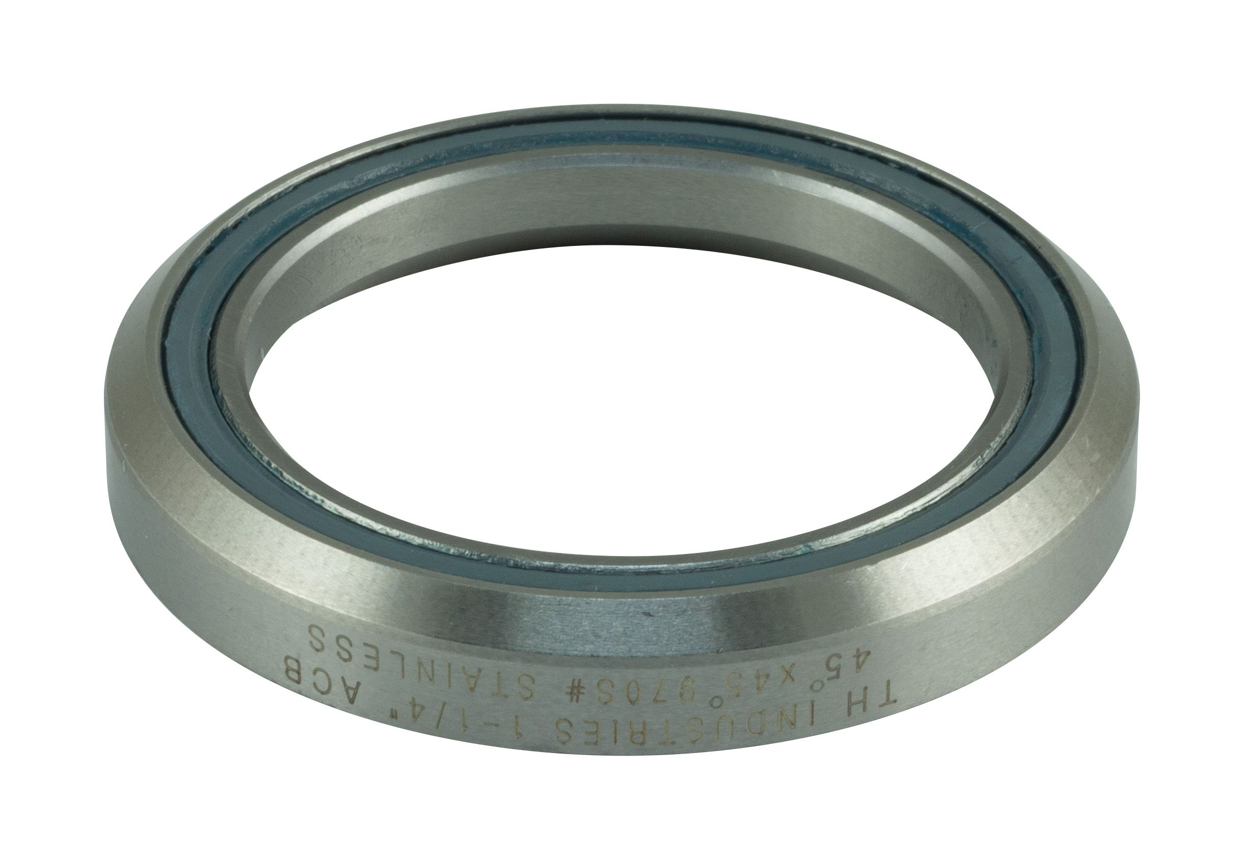 "FSA HEADSET BEARING ACB TH-970S 1.1/4"" 46.8MM 45 DEGREE-45 DEGREE - SILVER 1606737"
