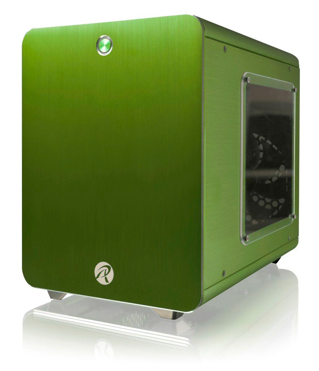 RAIJINTEK METIS- WINDOWED - GREEN MINI ITX CASE 0R200018