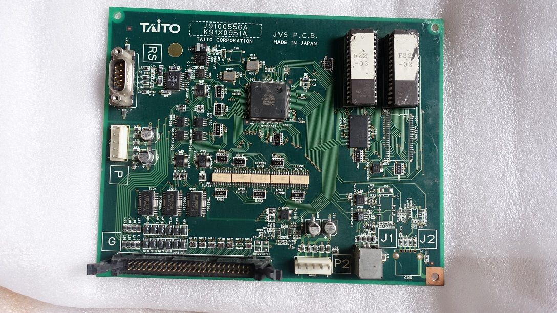 TAITO JVS PCB J9100556A (K91X0951A) BATTLE GEAR 3