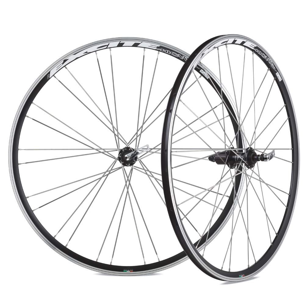 MICHE EXCITE WHEELS BLACK HG PAIR MCW02
