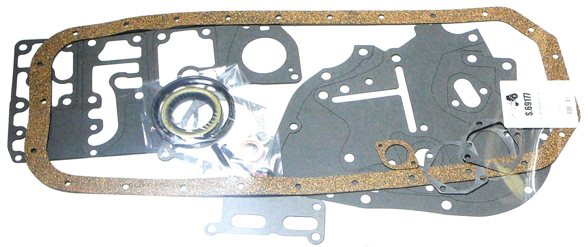 INT. HARVESTER BOTTOM GASKET SET 69177