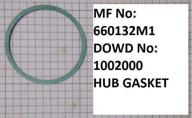 Massey Ferguson HUB GASKET Part No:660 132 M1