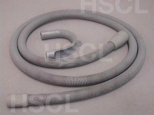 Drain Hose: 2.5m Hotpoint(inc Hook) 4247