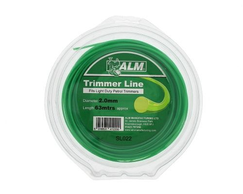 Trimmer Line: 2.0mm 61m Green Round Cutting Line SL022