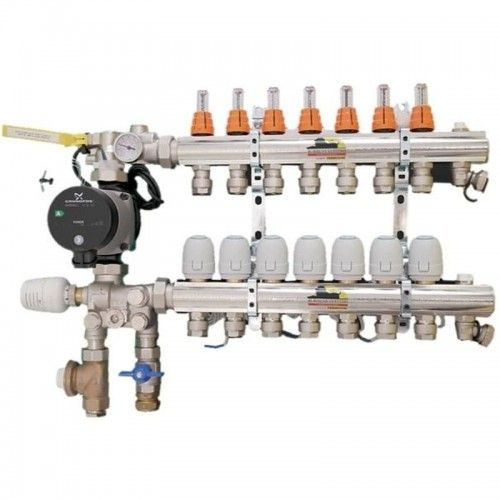 ROBBENS SYSTEMS 10 LOOP ASSEMBLED MULTIZONE MANIFOLD FOR BOILERS MAB4010