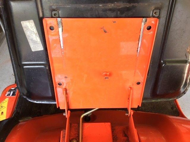 Kubota Ride on Mower GR2100-11 Metal Seat base plate